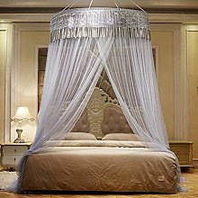 GLXQIJ Large Universal Mosquito Net Bed Canopy