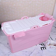 GLY Portable Bathtub Soaking Bath Tub For Shower