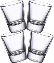 Gmark 1.5-Ounce Heavy Base Shot Glass Set, Whiskey