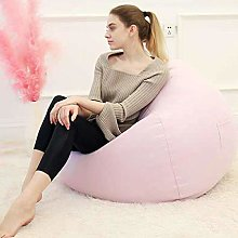 Gmsqj Bean Bag Sofa Chair with Footstool,Soft