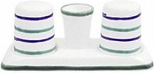 Gmundner Ceramics 'Traunsee' Salt / Pepper