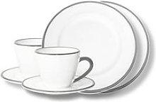 Gmundner Keramik,'Grauer Rand' Tableware