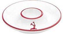 Gmundner Keramik,'Ruby Red Deer' Egg Cup