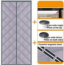 GNCCI Insulated Magnetic Screen Door, Winter