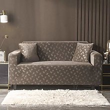 GNEHSL Printed Sofa Cover - Browngray Modern Sofa