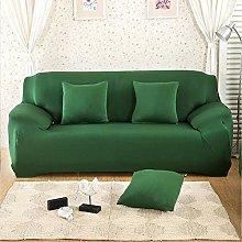 GNEHSL Printed Sofa Cover - Dark Green 3D Printed