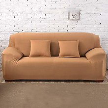 GNEHSL Printed Sofa Cover - Dark Khaki Modern Sofa