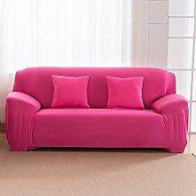 GNEHSL Printed Sofa Cover - Rose Red Modern
