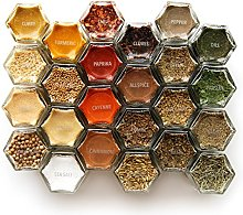 Gneiss Spice 1 Inch Clear Round Labels for Spice