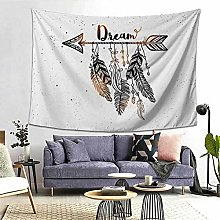 GNMDC Dreamcatcher Feather Tapestry, Hanging Cloth