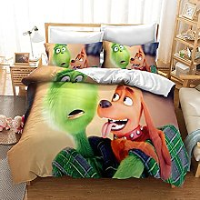GNNSITT bed covers double set Abstract cartoon
