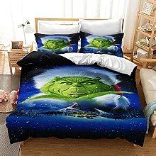 GNNSITT bedding Abstract cartoon blue animal