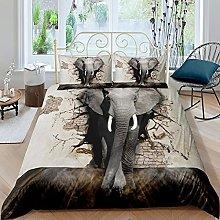 GNNSITT bedding Animal elephant wall crack