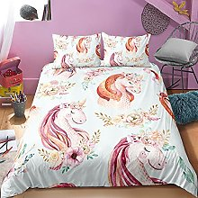GNNSITT bedding double bed Fashion colorful animal