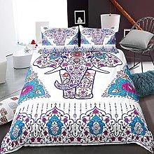 GNNSITT double bed duvet sets Color pattern animal