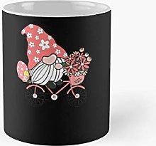 Gnome Easter Riding Bicycle Egg Classic Mug   Best