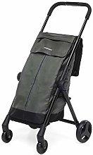 Go Fast Folding Shopping Cart grey