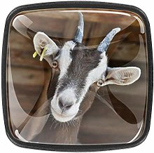 Goat Livestock Farm Cabinets Knobs 4pcs for Home