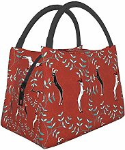 Goats Weenie Dog Lunch Bag Insulated Lunch Tote