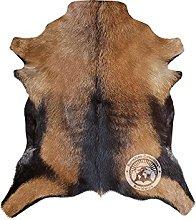 Goatskin Hide Rug Exotic 75 x 60 cm