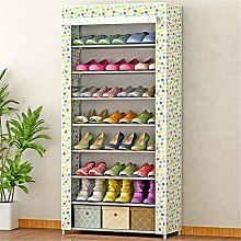 GOCF Portable Shoe Rack Closet Shoe Storage