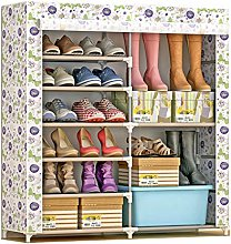 GOCF Portable Shoe Rack Shoe Organizer With
