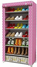 GOCF Portable Shoe Rack Shoe Storage Organizer