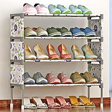 GOCF Portable Shoe Rack Space Saving Shoe