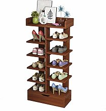 GOCF Portable Shoe Rack Storage Organizer For