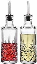 Godinger Oil and Vinegar Dispenser Cruet Set,