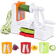 Godmorn Spiralizer Vegetable Slicer Spiral Slicer