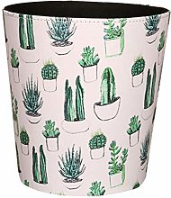 GODNECE 10L Waterproof Vintage Waste Paper Basket