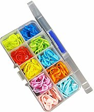 Godong Canister Mix Color Knitting Stitch Markers