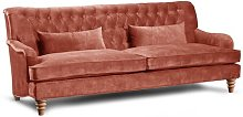 Godwin 3 Seater Chesterfield Sofa Rosalind Wheeler
