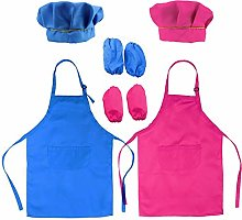 Sugar /& Spice Strawberries Apron /& Chef/'s Hat Set For Children by Shreds