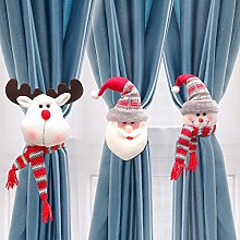 Gogh 6PCS Extra Cute Plush Curtain Tie Backs for