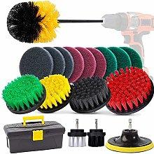 GOH DODD Drill Brush, 20 Pieces Power Scrubber