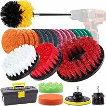 GOH DODD Drill Brush, 26 Pieces Power Scrubber