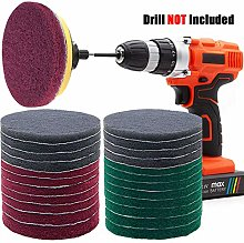 GOH DODD Power Scrub Pads Drill Attachment, 26