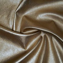 Gold - 1 Metre High Shine Metallic Stretch