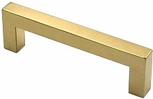 Gold 128mm Cabinet Hardware for Bathroom Square