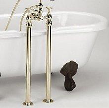 Gold 660mm Freestanding Bath Shrouds - LEG-G -