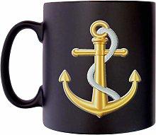 Gold Anchor Rope Sailing Sailor Yachting Klassek