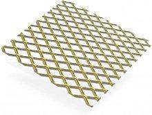 Gold Anodised Aluminium Grill 10 x 5.5mm Aperture