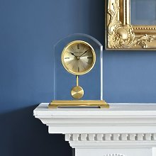 Gold Arch Pendulum Mantel Clock London Clock