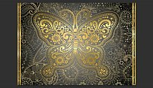 Gold Butterfly 2.10m x 300cm Wallpaper East Urban