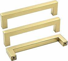 Gold Drawer Handles Kitchen Cupboard Handles 160mm