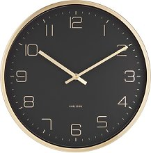 Gold Elegance 30cm Wall Clock Karlsson Colour: