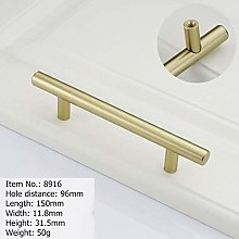 Gold Furniture Handle Aluminum Kitchen Handle