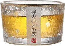 Gold Glass Sake Cups, Japanese sake set, Japanese